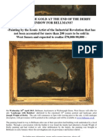 Painting Attributed to Joseph Wright of Derby Not Accounted For More Than 200 Years To Be Sold In West Sussex And Expected To Realise £70,000-90,000