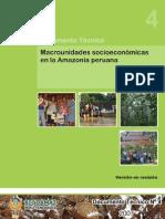 4 - Macrounidades Socioeconómicas en Amazonía Peruana 28-11-07