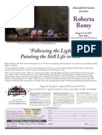 """Following the Light- Painting the Still Life in Oils"" with Roberta Remy"
