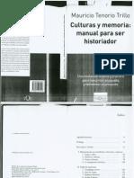 Mauricio Tenorio-Culturas y Memoria