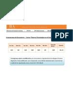 Cronograma de Encuentros - NTCE1 - Alberti