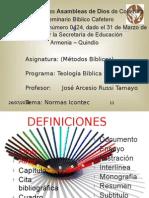 Normas Tecnicas Colombianas (1)
