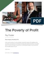 Poverty of Profit