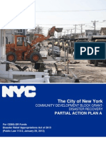 NYC Community Development Block Grant-Disaster Recovery Action Plan A