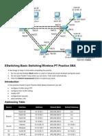 131511338 ESwitching Basic Switching Wireless PT Practice SBA