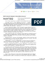 NAVTEQ LBS Challenge 2008 Press Release