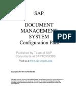 DMS Configuration Document