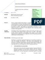 Employee to Student Sexual Abuse Policy Bulletin - 11-13-08