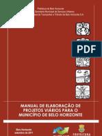 Manual de Elaboracao de Projetos Viarios para o Municipio de BH - Publicação 17-11-11
