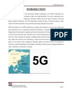 5g (Extension To4g) report