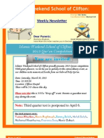School Newsletter [19]