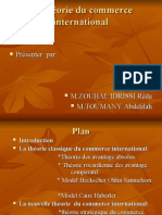 Theorie Du Commerce International