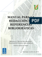 Manual Redaccion Referencias Bibliograficas Uchile2012