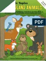 105688683 Terrific Topics Woodland Animals