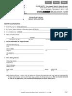 b2b grant application
