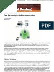 New Technologies in Instrumentation