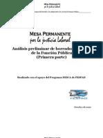 Analisis Borrador Ley Funcion Publica