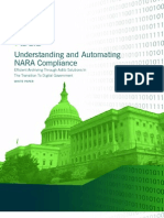 Understanding and Automating NARA Compliance