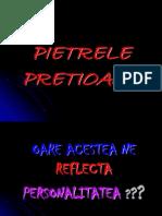 PIETRELE pretioase .ppt