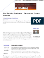 Gas Nitriding Equipment - Furnace and Feature Overview