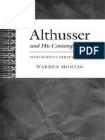 Althusser and His Contemporaries by Warren Montag