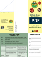 Local Foods Conference Brochure