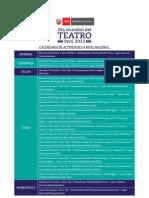 Dia Mundial Del Teatro Programa