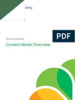 Elements Content Model Overview