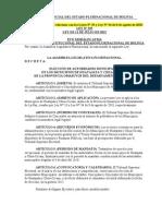 Ley Nº 255 Elección de Autoridades en Municipios de Huatajata y Chua-Cocani.doc