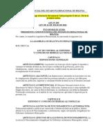 Ley Nº 259 de Control al Expendio y Consumo de Bebidas Alcohólicas.doc