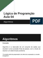 04 - Algoritmos