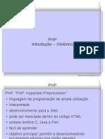 05 - PHP - Intro - Historico