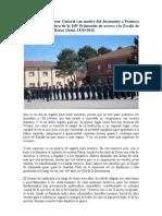 Alocución del Director General de la Guardia Civil en el acto de jura de bandera de la 118ª promoción de cabos y guardias
