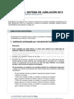 Reforma Jubilacion 2013 - Real Decreto-ley 5-2013