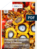 Profitability and Sustainability in Palm Oil Production Update