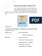 Triune Energy Services Private Limited , manish cusat