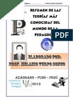 Corrientes Pedagogicas Resumidas