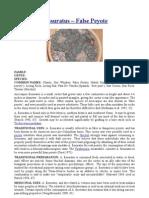 Ariocarpus fissuratus – False Peyote