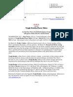 Paso Nuevo Press Release - Tough Reality
