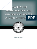 Strategy for Homeland Defense and Defense Support of Civil Authorities