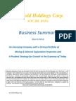 Business Summary Kat Gold Holding Corp BVIG