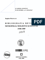 Bogdan Mosneagu - Bibliografia Revistei MMS, 1948-1989 (2009)