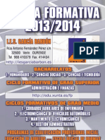 formación 2013-2014