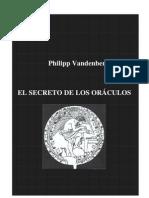 Vandenberg Philipp - El Secreto de Los Oraculos