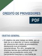 PRACTICA 2 Credito de Proveedores