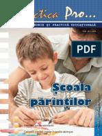 Revista 57-58 Parteneriat Scoala Familie