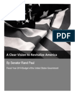 Senator Rand Paul - A Clear Vision to Revitalize America