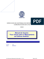 Manual Usuario Foro Virtual
