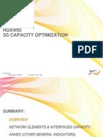 3G Huawei Capacity Optimization Process