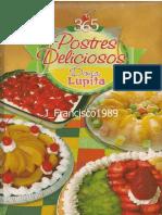 365 Postres Deliciosos - Doña Lupita